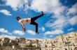 Ο DK στο βάθρο του Red Bull Art of Motion της Ιταλίας