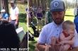 Ο Justin Timberlake πήρε αγκαλιά το μωρό ενός θαυμαστή