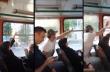 Διαφωνία για το παράθυρο στο λεωφορείο