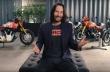 Ο Keanu Reeves δείχνει τις πιο ξεχωριστές μοτοσυκλέτες του