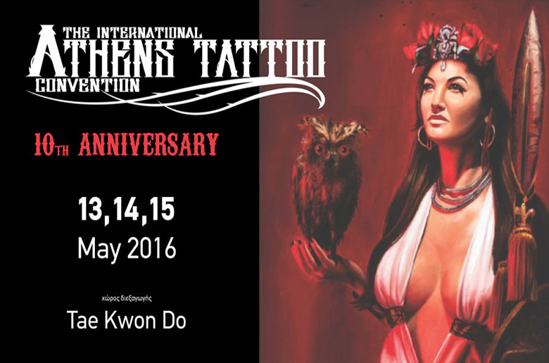 10th International Athens Tattoo Convention