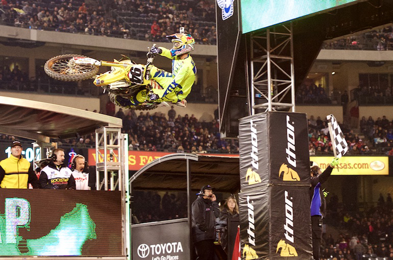Ο νικητής του Monster Energy AMA Supercross, Ken Roczen!