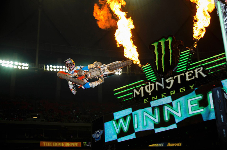 Monster Energy ΑΜΑ Supercross: Ο αγώνας ATLANTA II