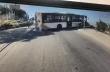 Ένα λεωφορείο σχεδόν πέφτει στον γκρεμό