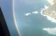 Ουράνιο τόξο στον ουρανό της Χονολουλού