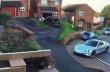 Ατύχημα στο παρκάρισμα μιας Porsche Taycan