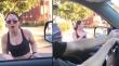 Γυναίκα πιστεύει ότι ένας αυτοκινητιστής την παρενοχλεί όμως ήθελε να τη βοηθήσει